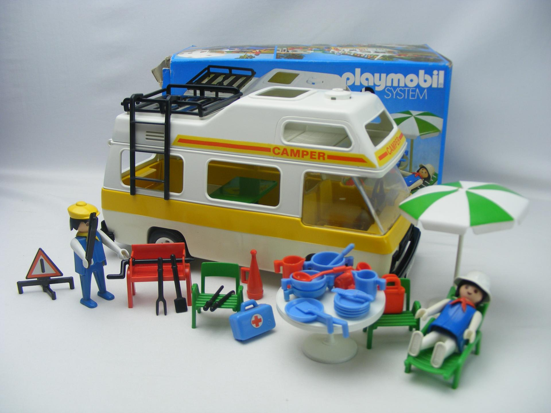 PLAYMOBIL 3258 CARAVANA (AÑO 1979 - 1988, VERSION 1)