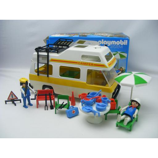 PLAYMOBIL 3258 CARAVANA (AÑO 1979 - 1988, VERSION 1) [0]