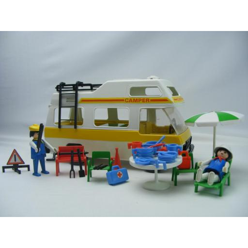 PLAYMOBIL 3258 CARAVANA (AÑO 1979 - 1988, VERSION 1) [1]