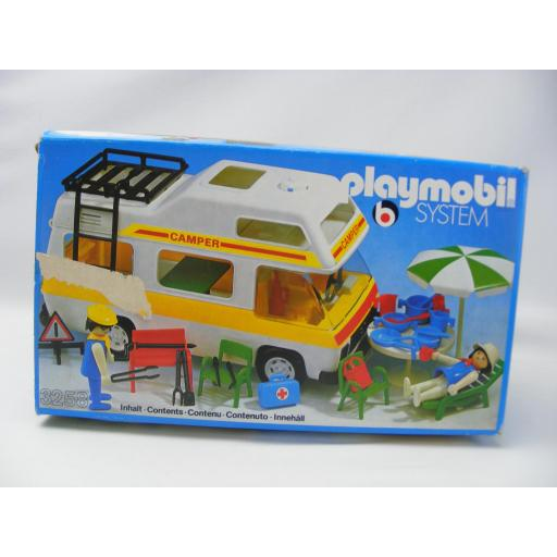 PLAYMOBIL 3258 CARAVANA (AÑO 1979 - 1988, VERSION 1) [3]