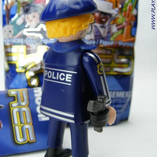 PLAYMOBIL SERIE 16 CHICOS POLICIA [1]