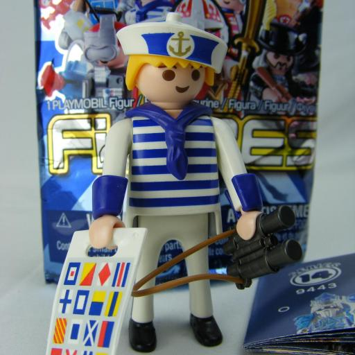 PLAYMOBIL SERIE 14 CHICOS MARINERO