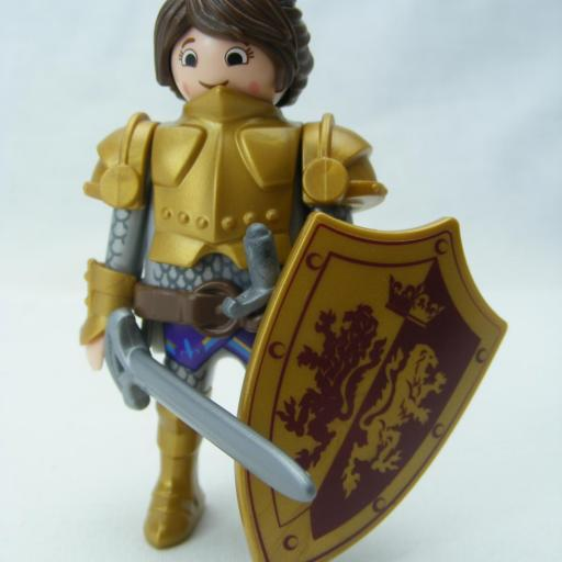 PLAYMOBIL MARLA CABALLERO MEDIEVAL GUERRERA (THE MOVIE)