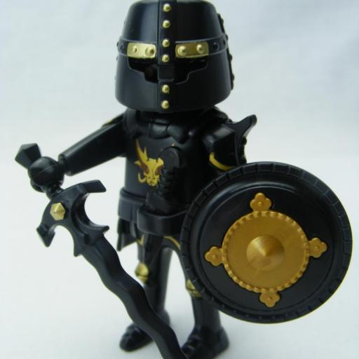 PLAYMOBIL CABALLERO NEGRO (THE MOVIE)