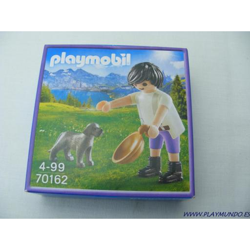PLAYMOBIL 70162 PASTOR EDICION CHOCOLATES MILKA
