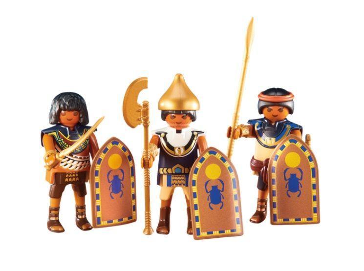 PLAYMOBIL 3 SOLDADOS EGIPCIOS (6488)