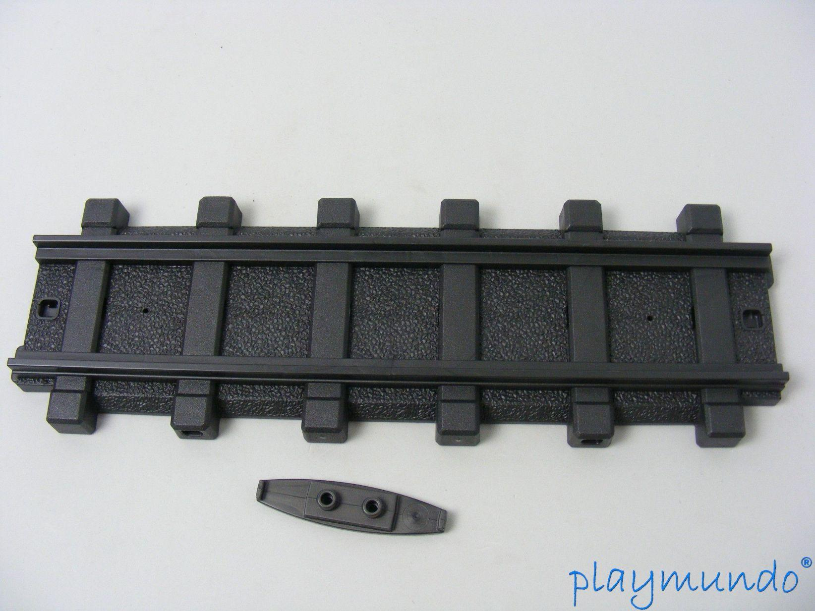 PLAYMOBIL 30 03 5380 VIA RECTA TREN FERROCARRIL