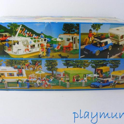 PLAYMOBIL 3258 FURGONETA CAMPING (AÑO 1979-1988) VERSION 1 [2]