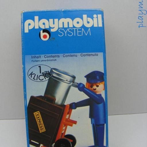 PLAYMOBIL 3323 OPERARIO DE ESTACION (AÑO 1976)) [3]