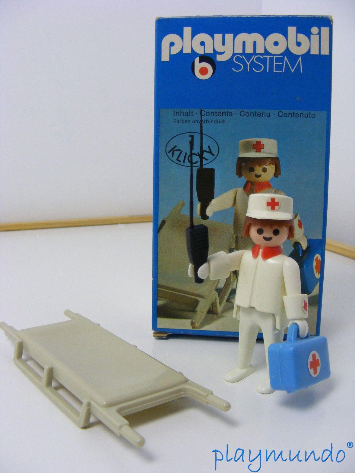 PLAYMOBIL 3361  ENFERMERO (AÑO 1976)
