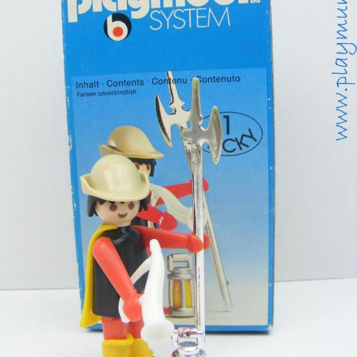 PLAYMOBIL 3378 GUARDIA MEDIEVAL (AÑO 1977 - 1980)