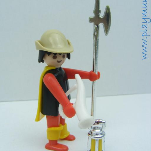 PLAYMOBIL 3378 GUARDIA MEDIEVAL (AÑO 1977 - 1980) [1]