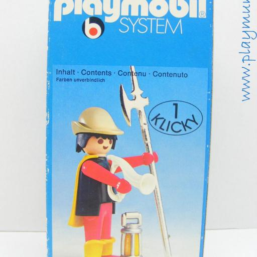 PLAYMOBIL 3378 GUARDIA MEDIEVAL (AÑO 1977 - 1980) [3]