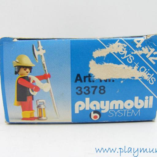 PLAYMOBIL 3378 GUARDIA MEDIEVAL (AÑO 1977 - 1980) [2]