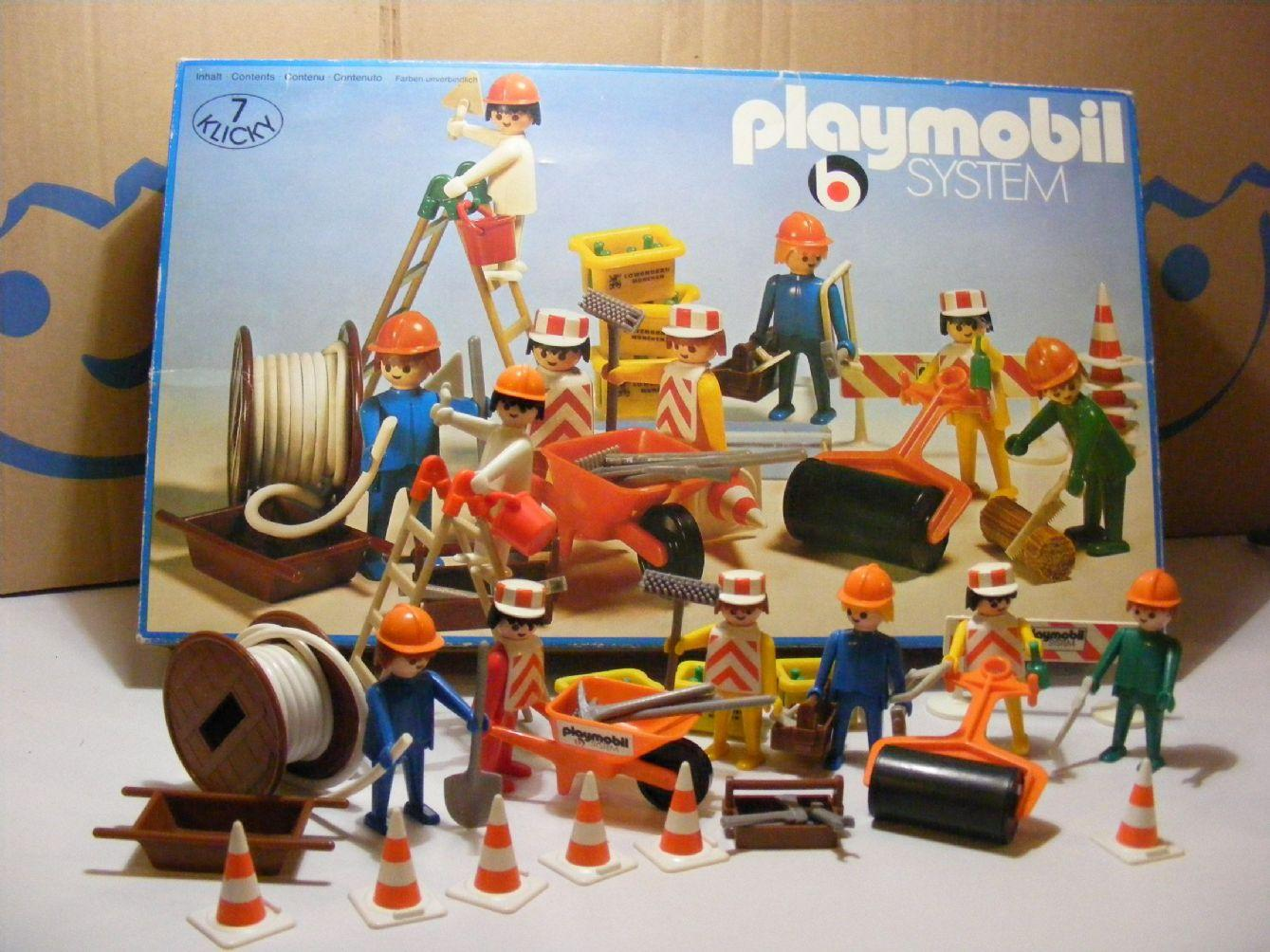PLAYMOBIL 3400  SET CONSTRUCCION (AÑO 1976-1981)