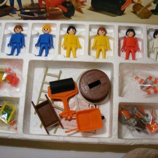 PLAYMOBIL 3400  SET CONSTRUCCION (AÑO 1976-1981) [1]