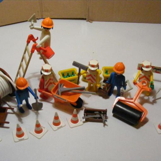 PLAYMOBIL 3400  SET CONSTRUCCION (AÑO 1976-1981) [2]