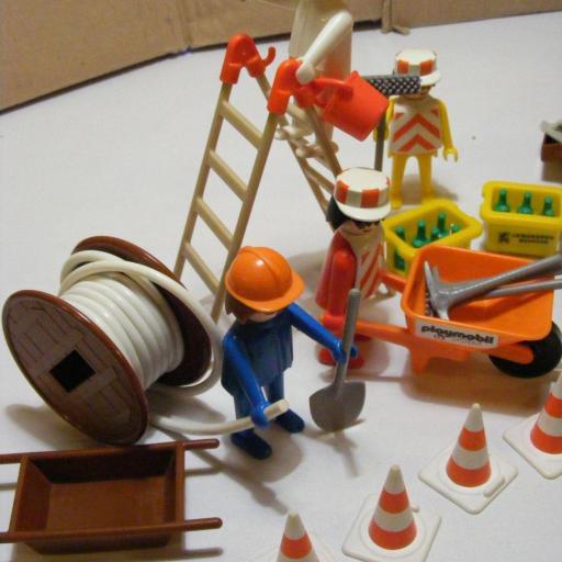 PLAYMOBIL 3400  SET CONSTRUCCION (AÑO 1976-1981) [3]