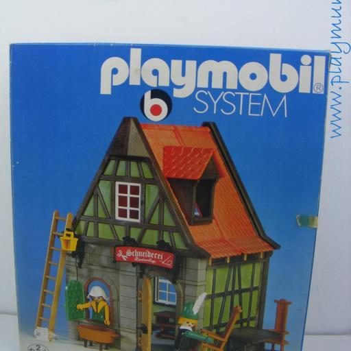 PLAYMOBIL 3440 SASTRERIA MEDIEVAL (VERSION 1 AÑO 1977-1981) [2]