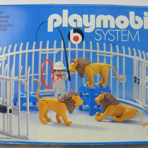 PLAYMOBIL 3517 DOMADOR DE LEONES (VERSION 1 , AÑO 1979 - 1983) [1]