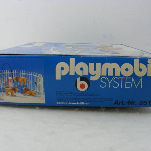 PLAYMOBIL 3517 DOMADOR DE LEONES (VERSION 1 , AÑO 1979 - 1983) [2]