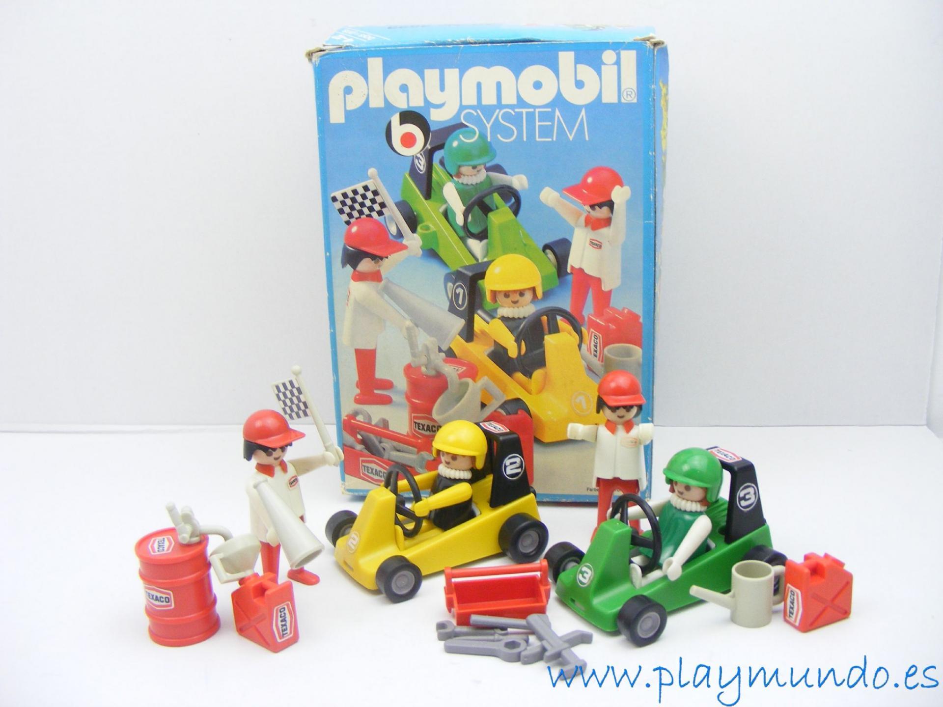 PLAYMOBIL 3523 KART CARRERAS (version 1, AÑO 1979 - 1981)