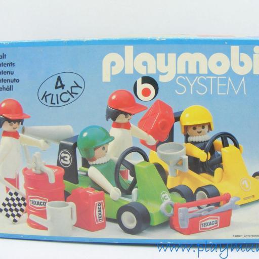 PLAYMOBIL 3523 KART CARRERAS (version 1, AÑO 1979 - 1981) [2]