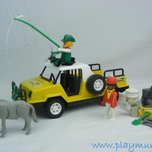 PLAYMOBIL 3528 TODOTERRENO SAFARI NGORONGORO (AÑO 1980)