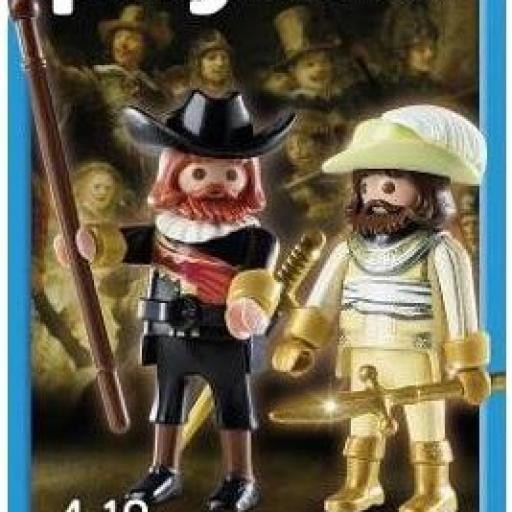 PLAYMOBIL 5090 LA RONDA DE NOCHE (THE NIGHT WATCH) DE REMBRANDT (año 2015)