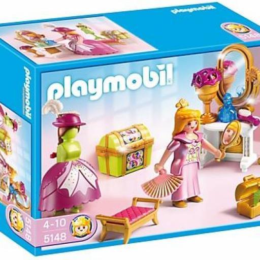 PLAYMOBIL 5148 VESTIDOR REAL