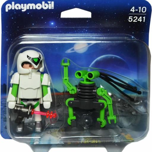 PLAYMOBIL 5241 DUO PACK ROBOT Y ASTRONAUTA