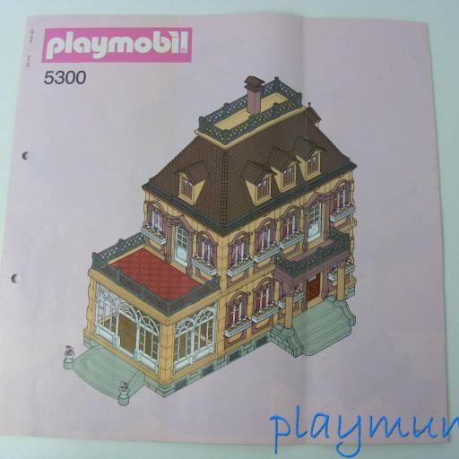 PLAYMOBIL 5300 MANUAL