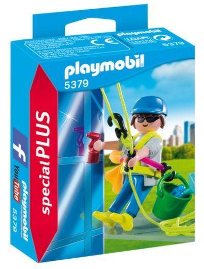 PLAYMOBIL 5379 Limpiador de Ventanas