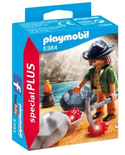 PLAYMOBIL 5384 BUSCADOR DE GEMAS