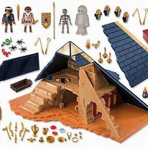 PLAYMOBIL 5386 PIRAMIDE EGIPCIA [1]