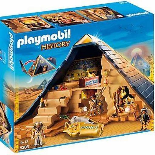 PLAYMOBIL 5386 PIRAMIDE EGIPCIA
