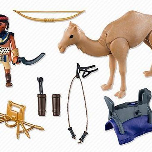 PLAYMOBIL 5389 GUERRERO EGIPCIO CON CAMELLO [1]