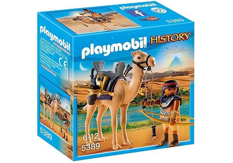 PLAYMOBIL 5389 GUERRERO EGIPCIO CON CAMELLO