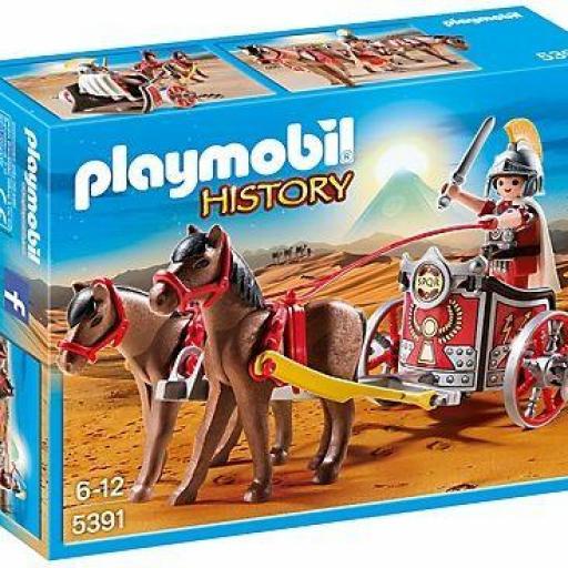 PLAYMOBIL 5391 CARRO ROMANO