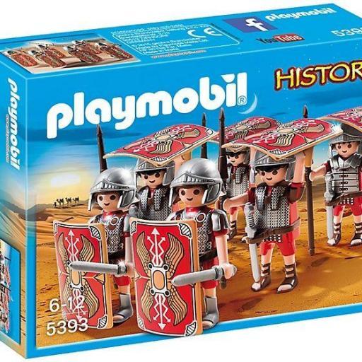 PLAYMOBIL 5393 EQUIPO DE ATAQUE ROMANO