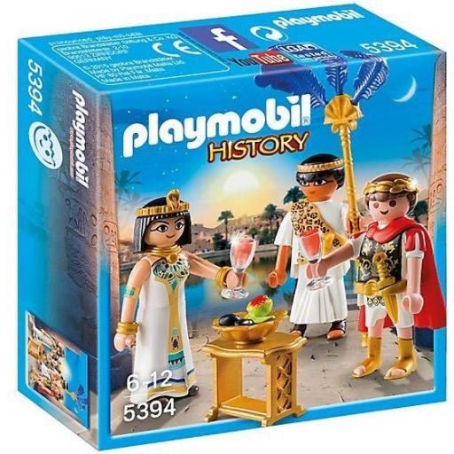 PLAYMOBIL 5394 CESAR Y CLEOPATRA