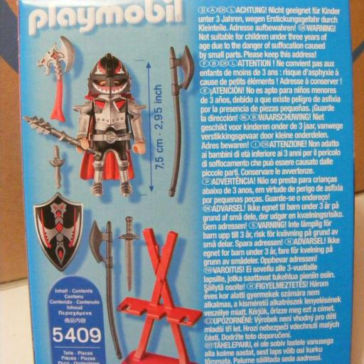 PLAYMOBIL 5409 ESPECIAL PLUS CABALLERO MEDIEVAL [1]