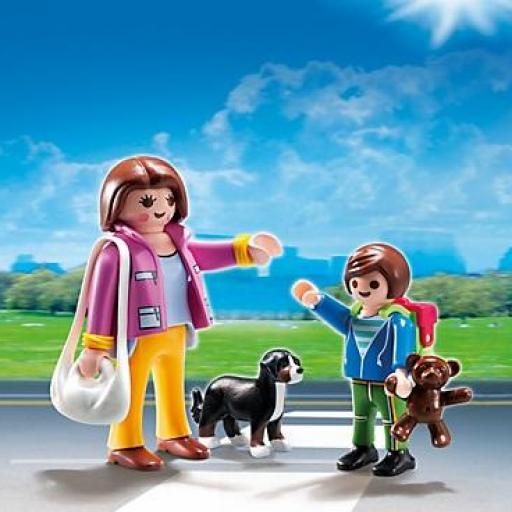 PLAYMOBIL 5513 DUO PACK MADRE CON NIÑO [1]