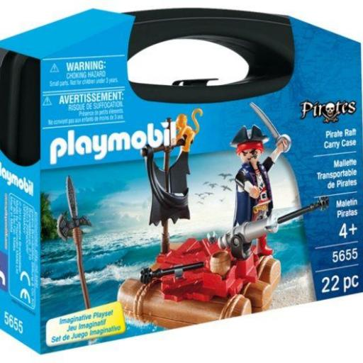PLAYMOBIL 5655 MALETIN PIRATA