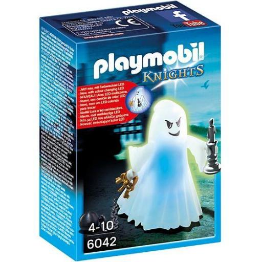 PLAYMOBIL 6042 Fantasma del Castillo con Led-Multicolor