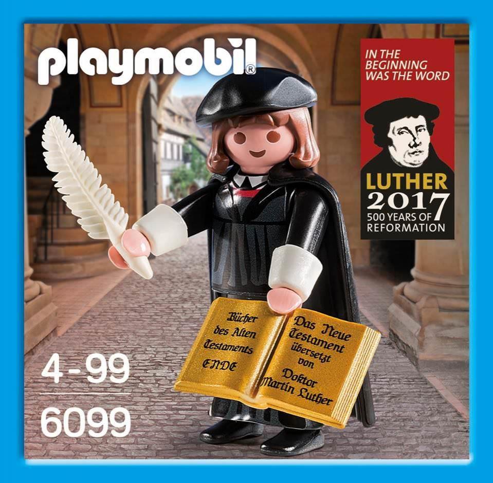 PLAYMOBIL 6099 MARTIN LUTHER (EDICION ESPECIAL CONMEMORATIVA ALEMANA)