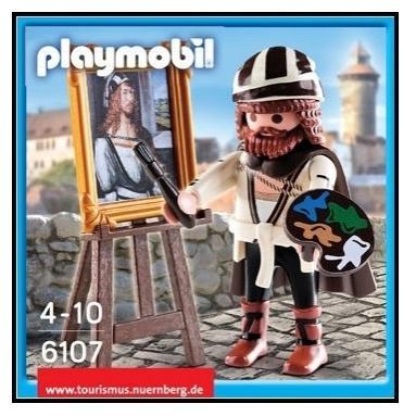 PLAYMOBIL 6107 PINTOR DURERO EDICION LIMITADA