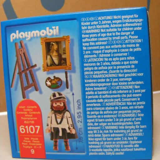 PLAYMOBIL 6107 PINTOR DURERO EDICION LIMITADA [1]