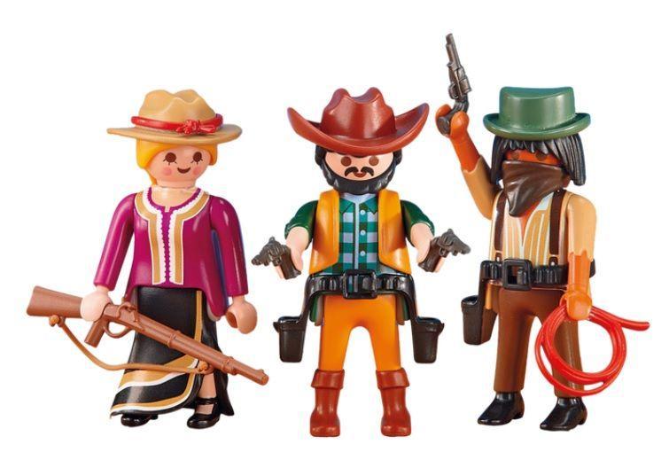 PLAYMOBIL 6278 COWBOYS Y VAQUERA