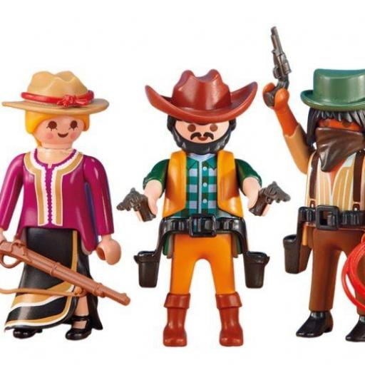 PLAYMOBIL 6278 COWBOYS Y VAQUERA